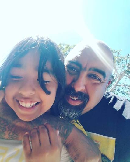 Co-Founder Jose Osuna with his granddaughter, Nayeli